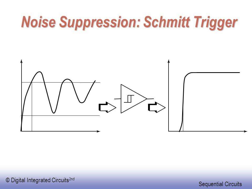 Noise Suppression: Schmitt Trigger