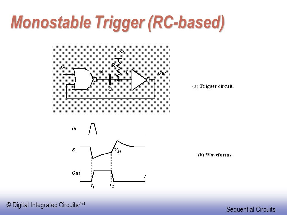 Monostable Trigger (RC-based)