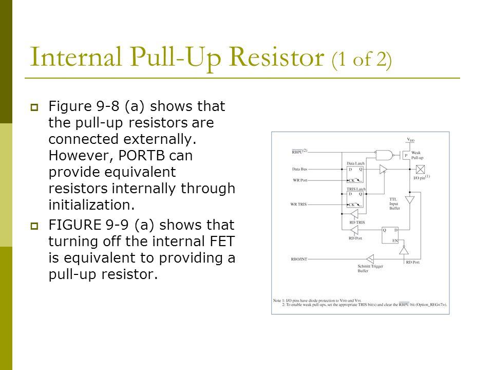 Internal Pull-Up Resistor (1 of 2)