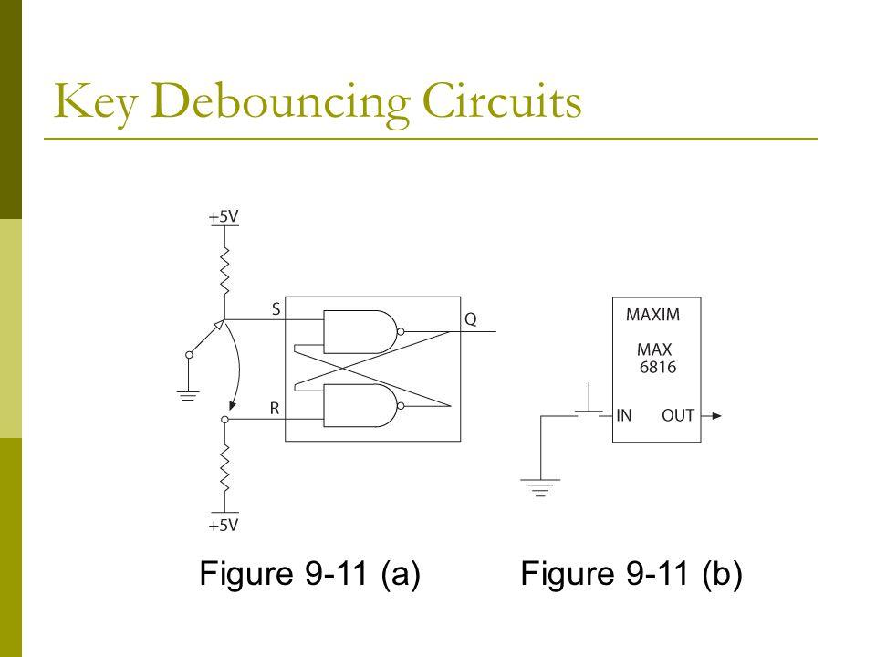 Key Debouncing Circuits
