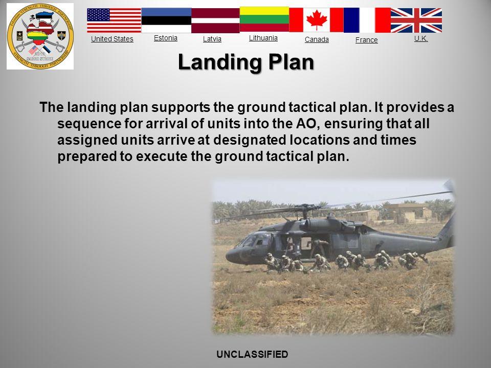 Landing Plan
