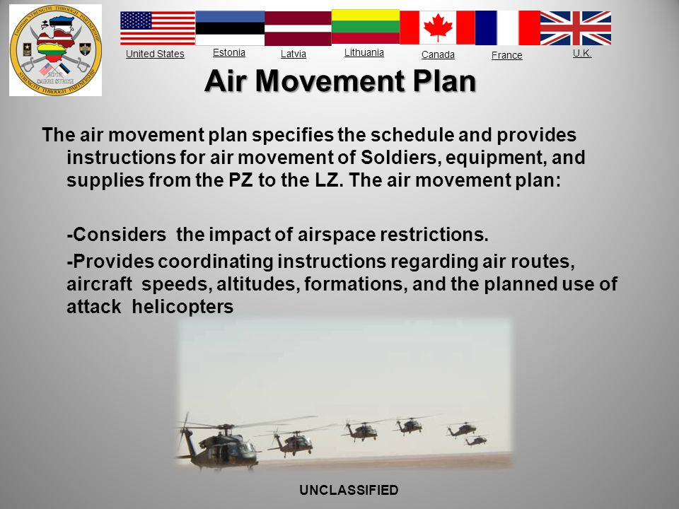 Air Movement Plan