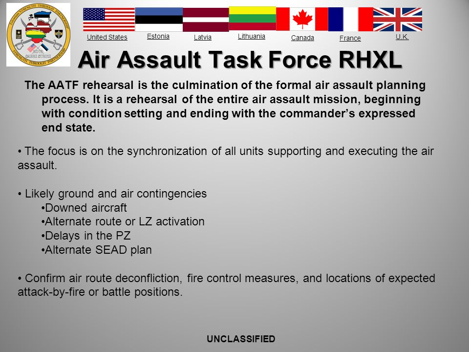 Air Assault Task Force RHXL