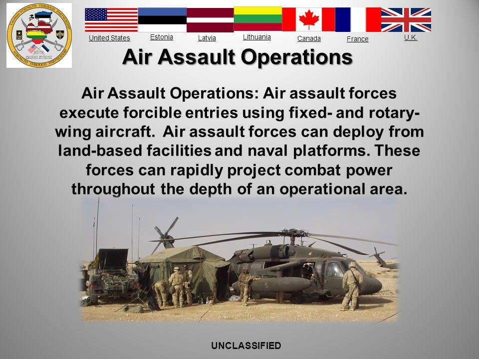 Air Assault Operations