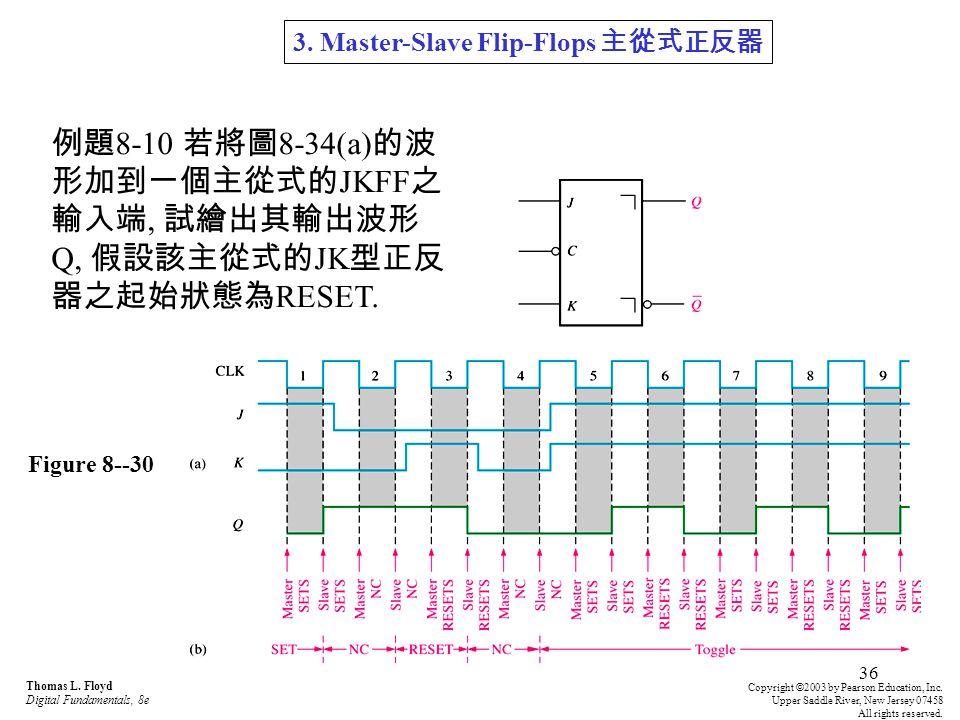 3. Master-Slave Flip-Flops 主從式正反器