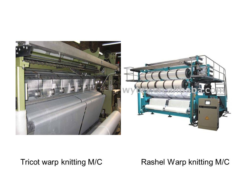 Tricot warp knitting M/C Rashel Warp knitting M/C