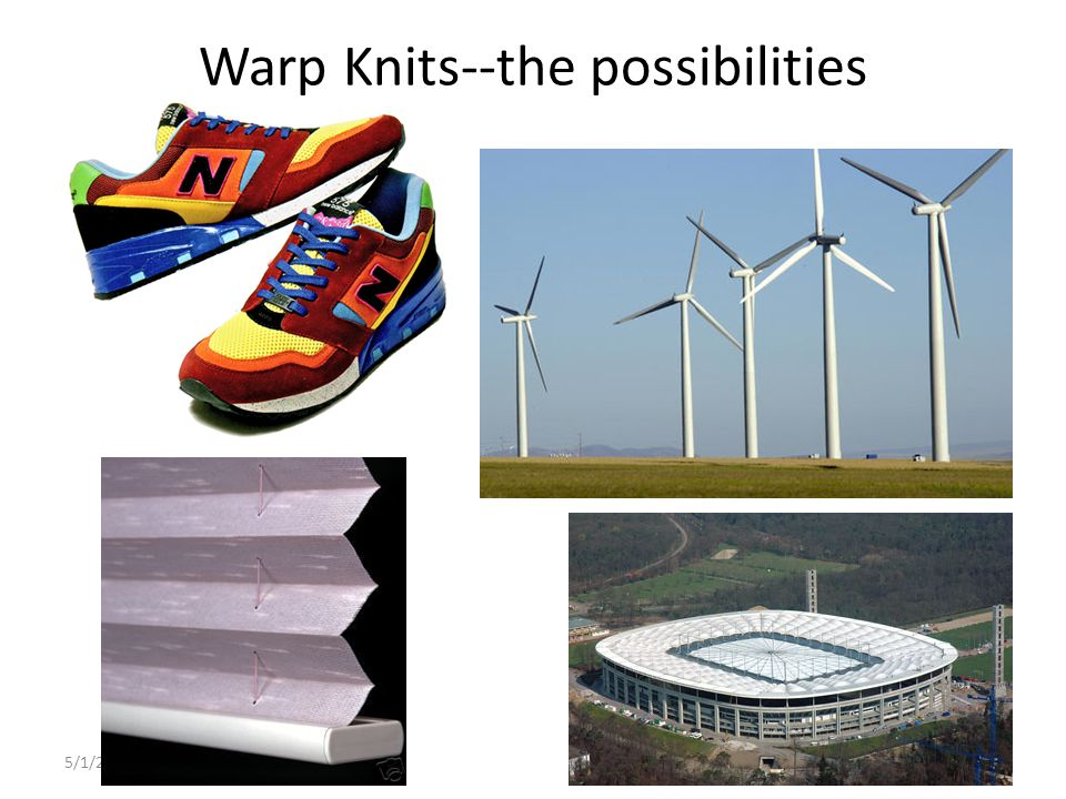 Warp Knits--the possibilities