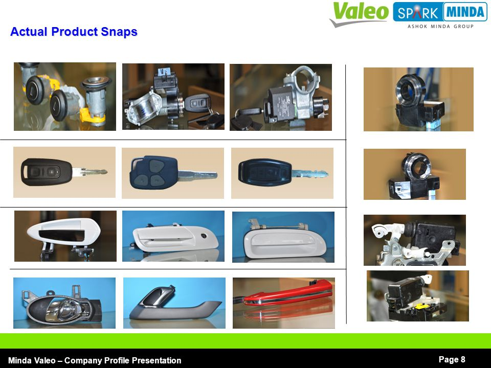Company Profile Presentation Minda Valeo Security Systems