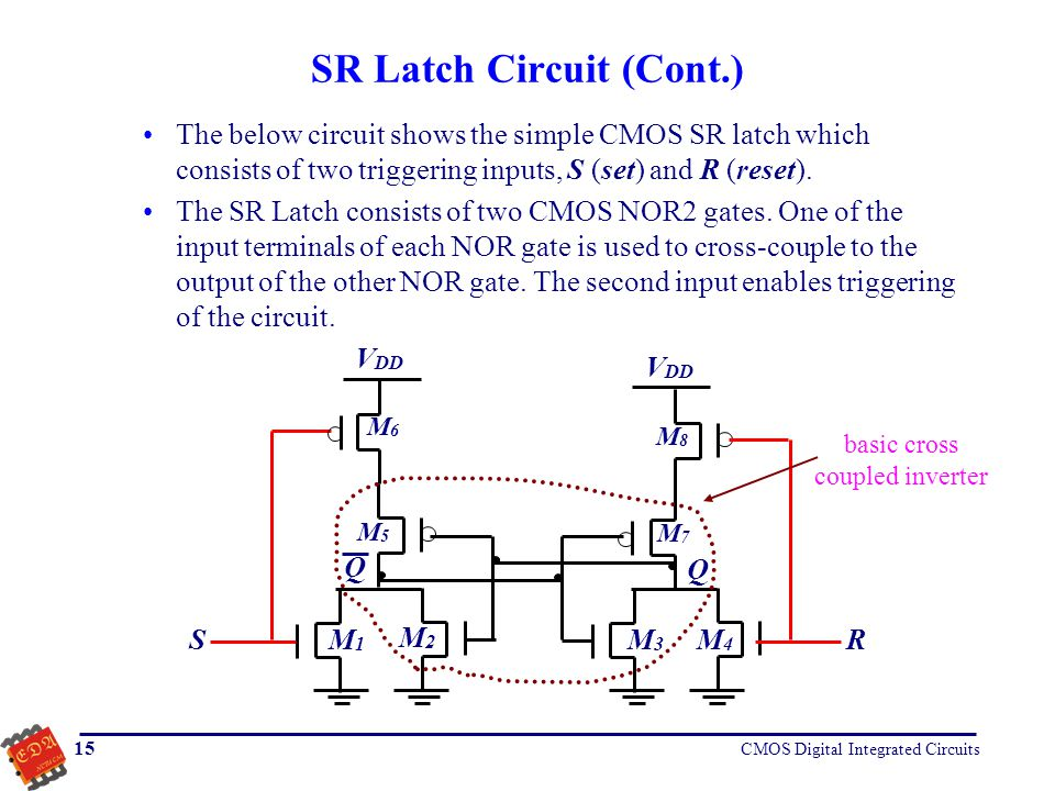 SR Latch Circuit (Cont.)
