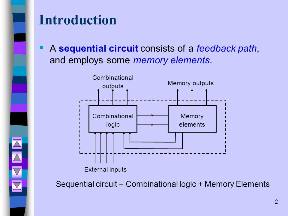 Combinational outputs