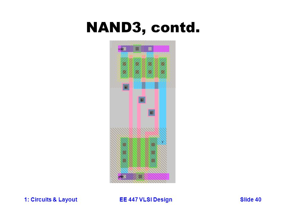NAND3, contd.