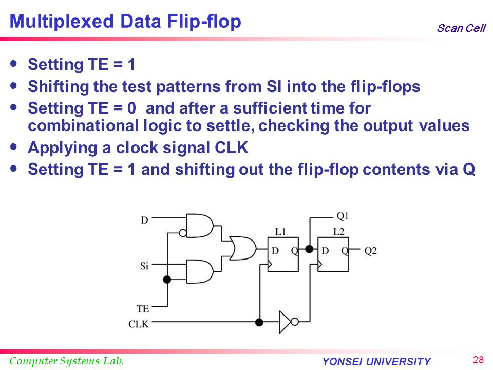 Multiplexed Data Flip-flop