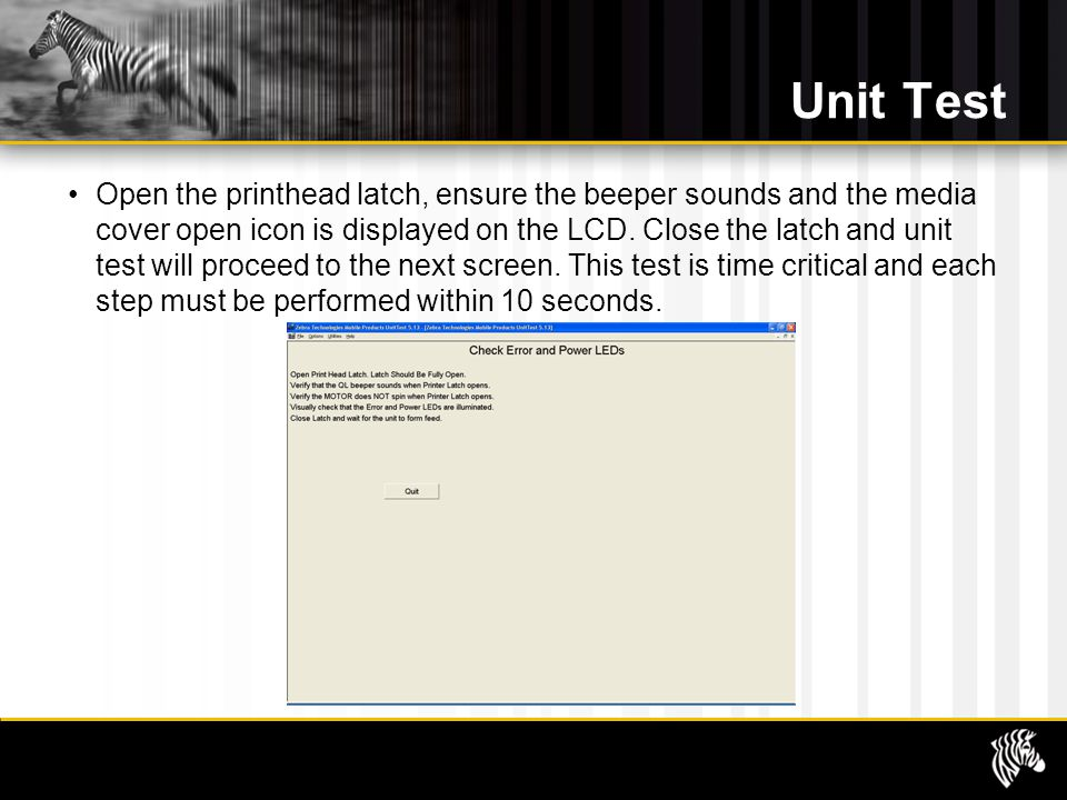 Unit Test