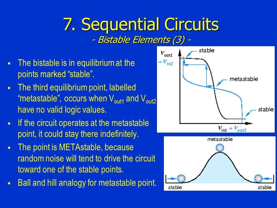 7. Sequential Circuits - Bistable Elements (3) -