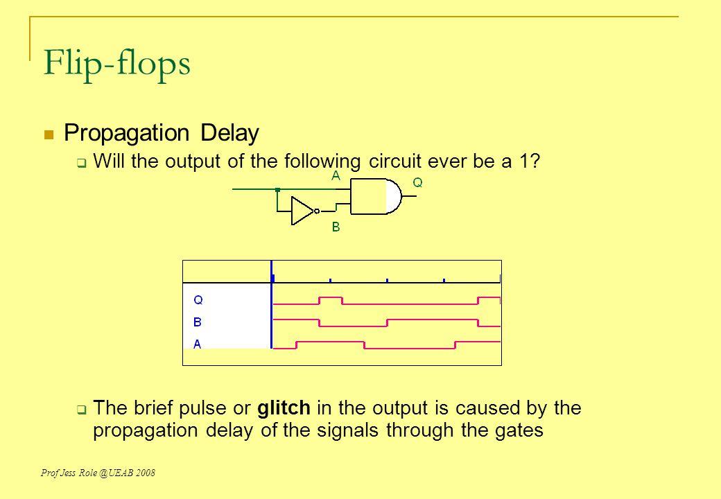 Flip-flops Propagation Delay
