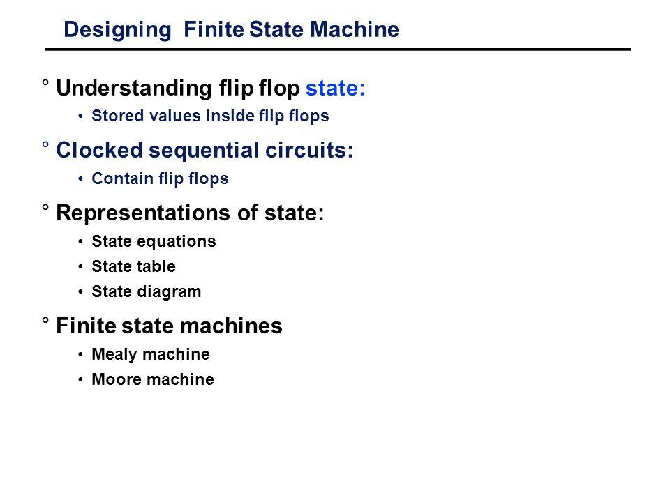 Designing Finite State Machine