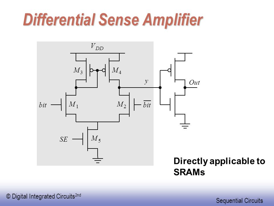 Differential Sense Amplifier