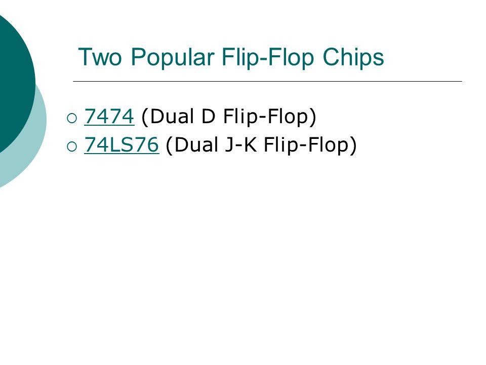 Two Popular Flip-Flop Chips