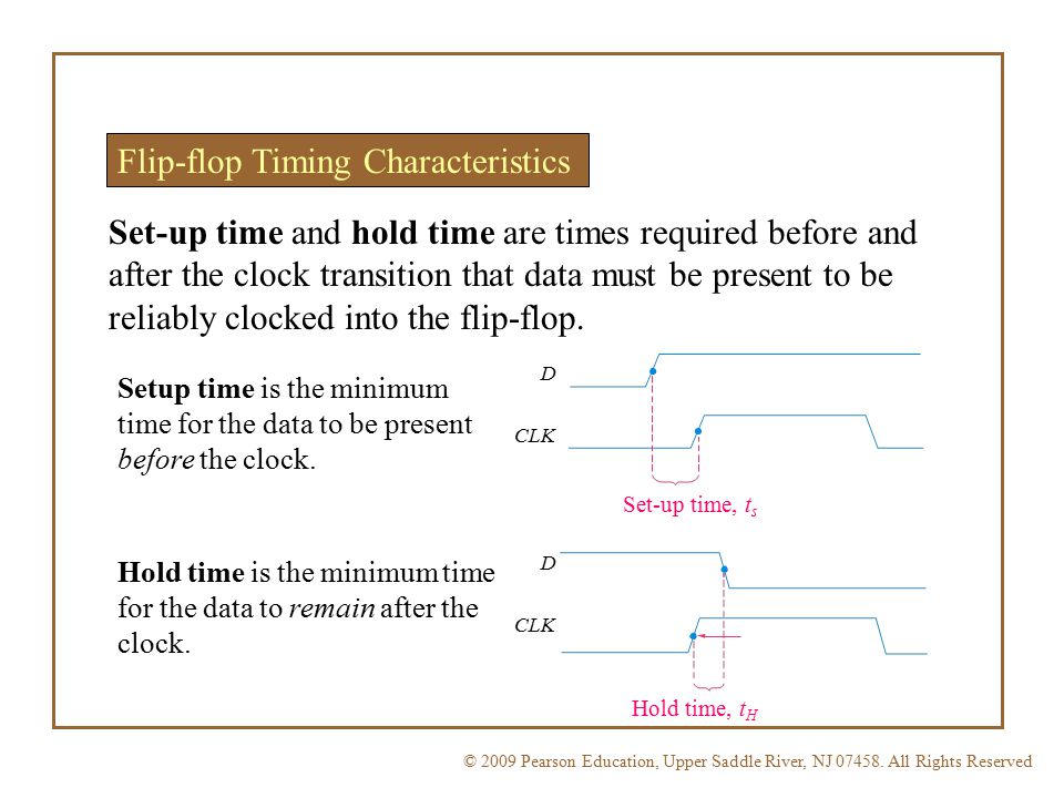 Flip-flop Timing Characteristics
