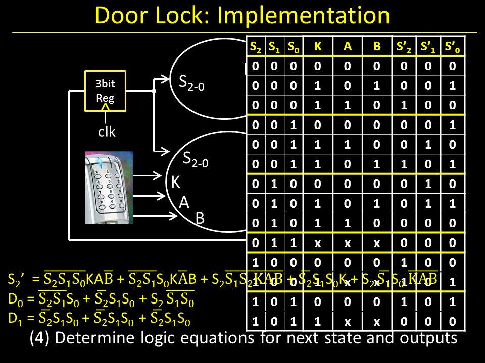 Door Lock: Implementation