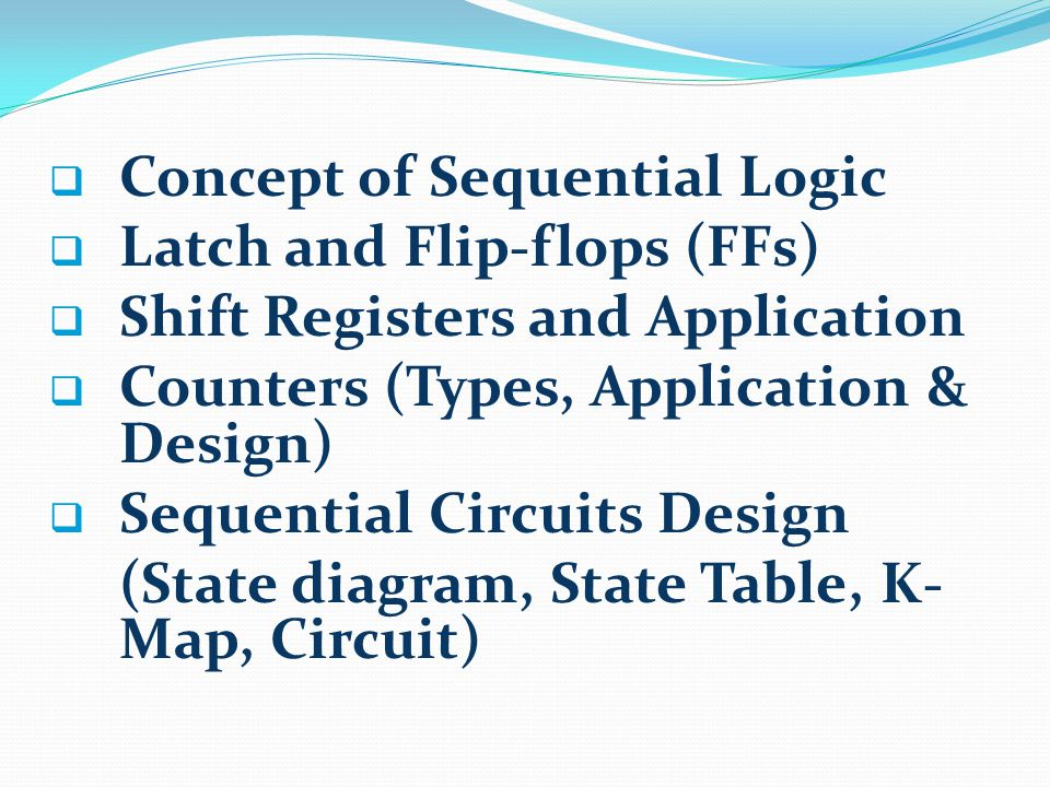 Concept of Sequential Logic