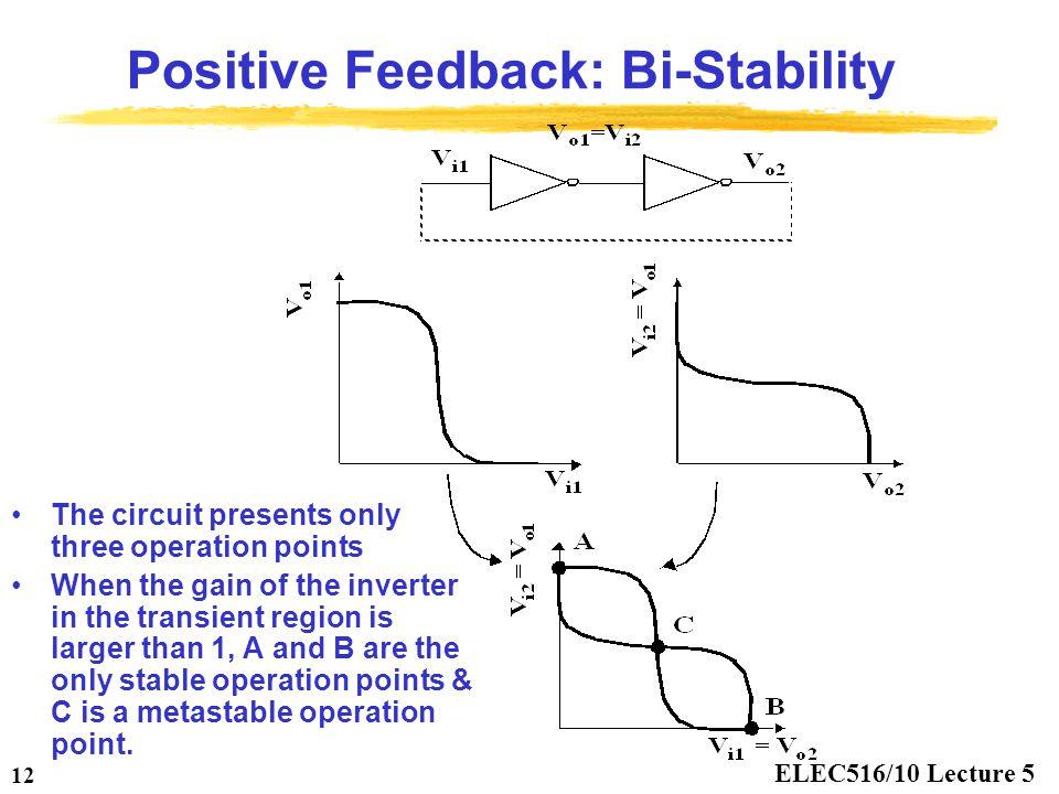 Positive Feedback: Bi-Stability
