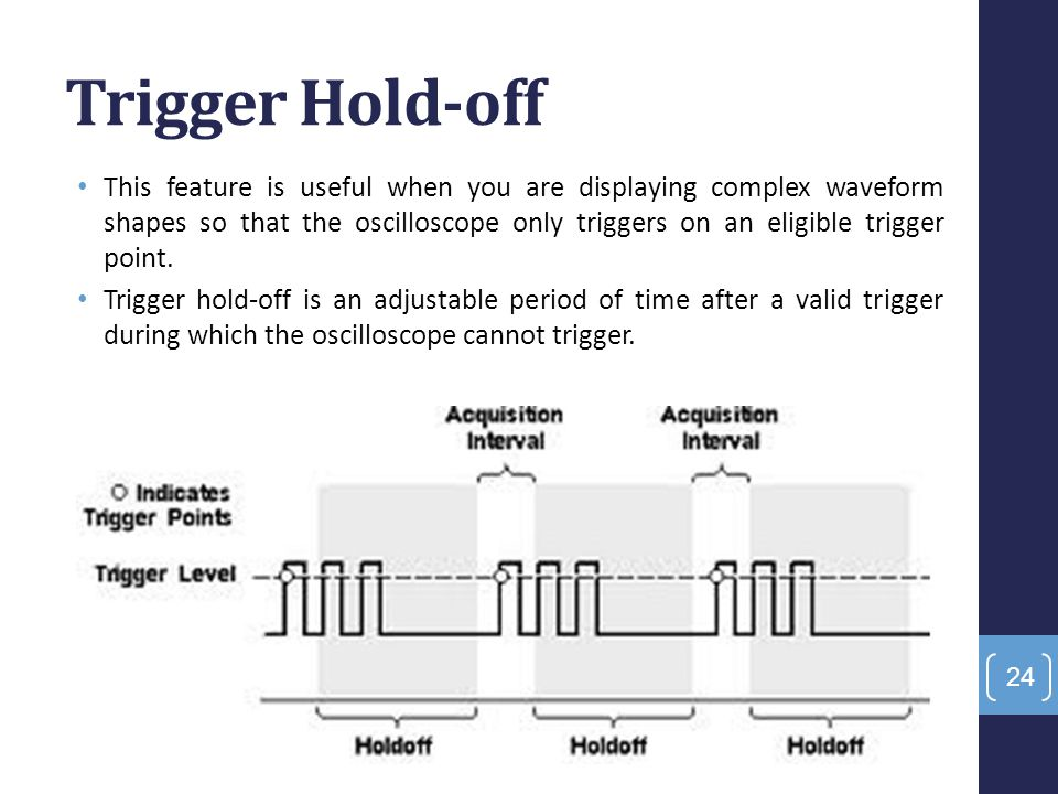 Trigger Hold-off