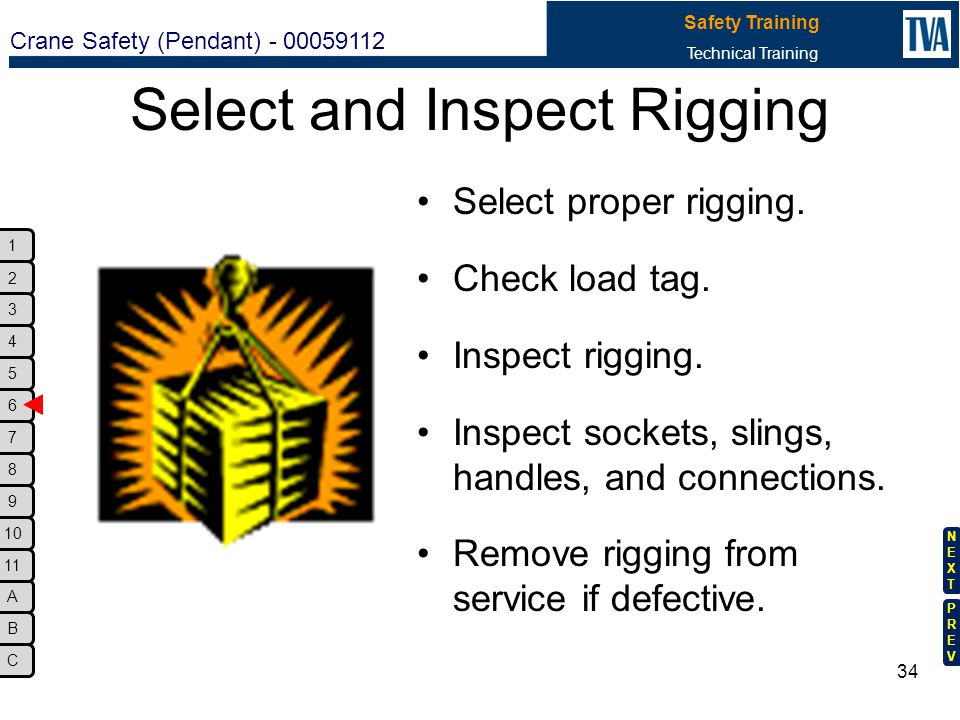 Select and Inspect Rigging