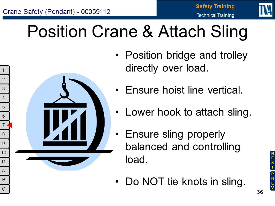 Position Crane & Attach Sling