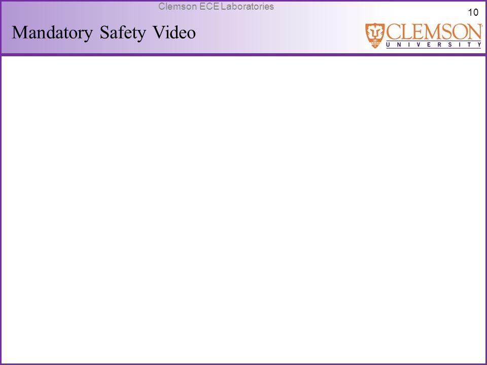 Mandatory Safety Video