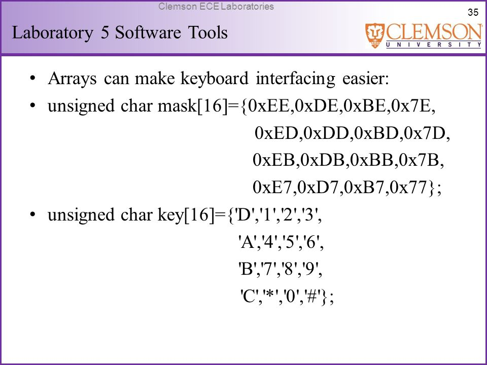 Laboratory 5 Software Tools
