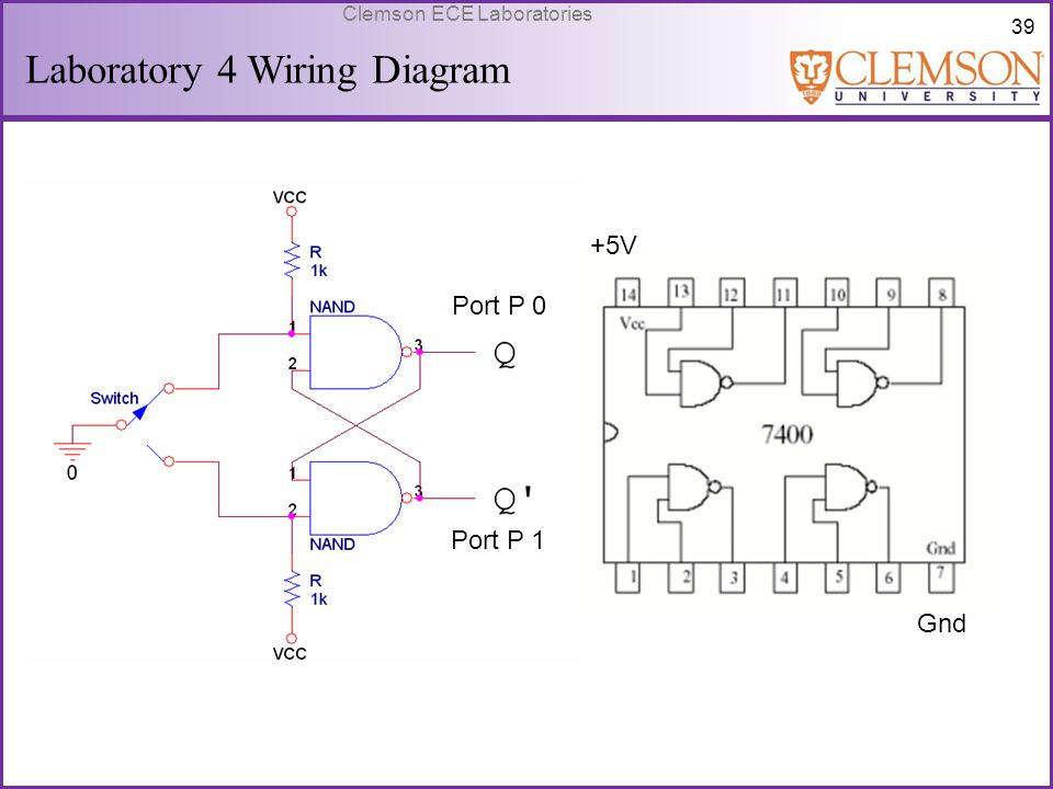 Laboratory 4 Wiring Diagram