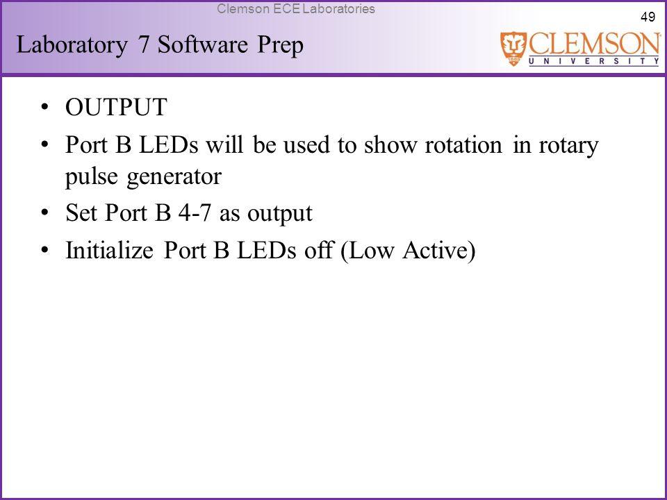 Laboratory 7 Software Prep