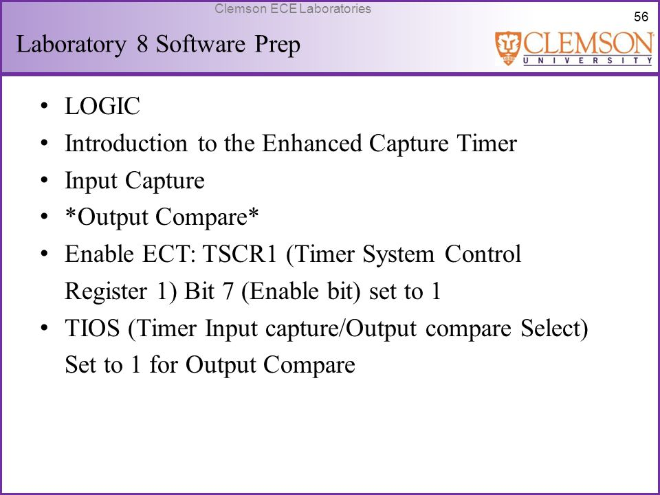 Laboratory 8 Software Prep