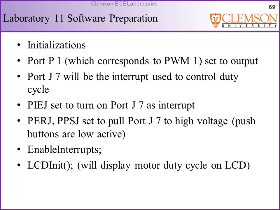Laboratory 11 Software Preparation