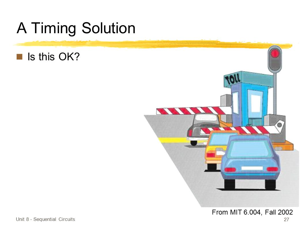 A Timing Solution Is this OK From MIT 6.004, Fall 2002
