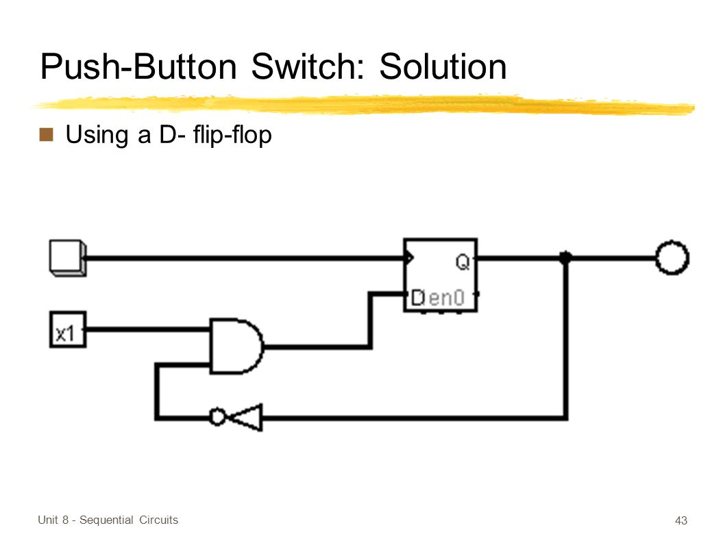 Push-Button Switch: Solution