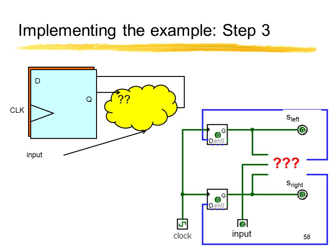 Implementing the example: Step 3