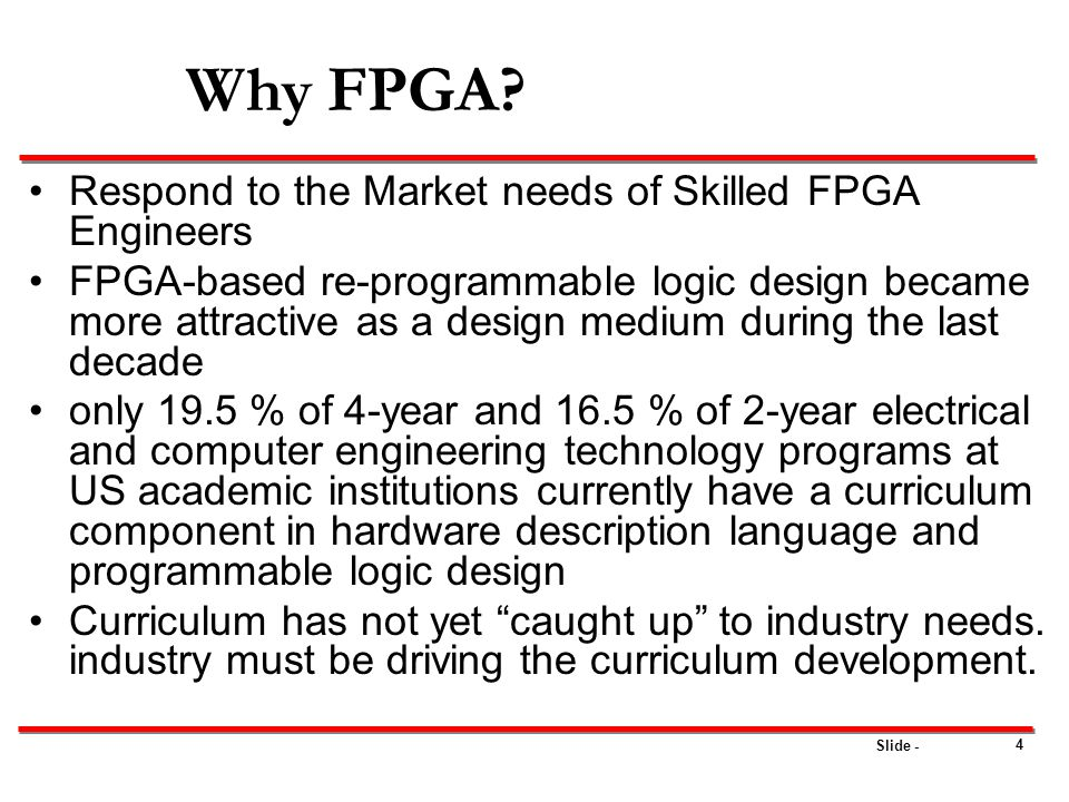 Why FPGA Respond to the Market needs of Skilled FPGA Engineers