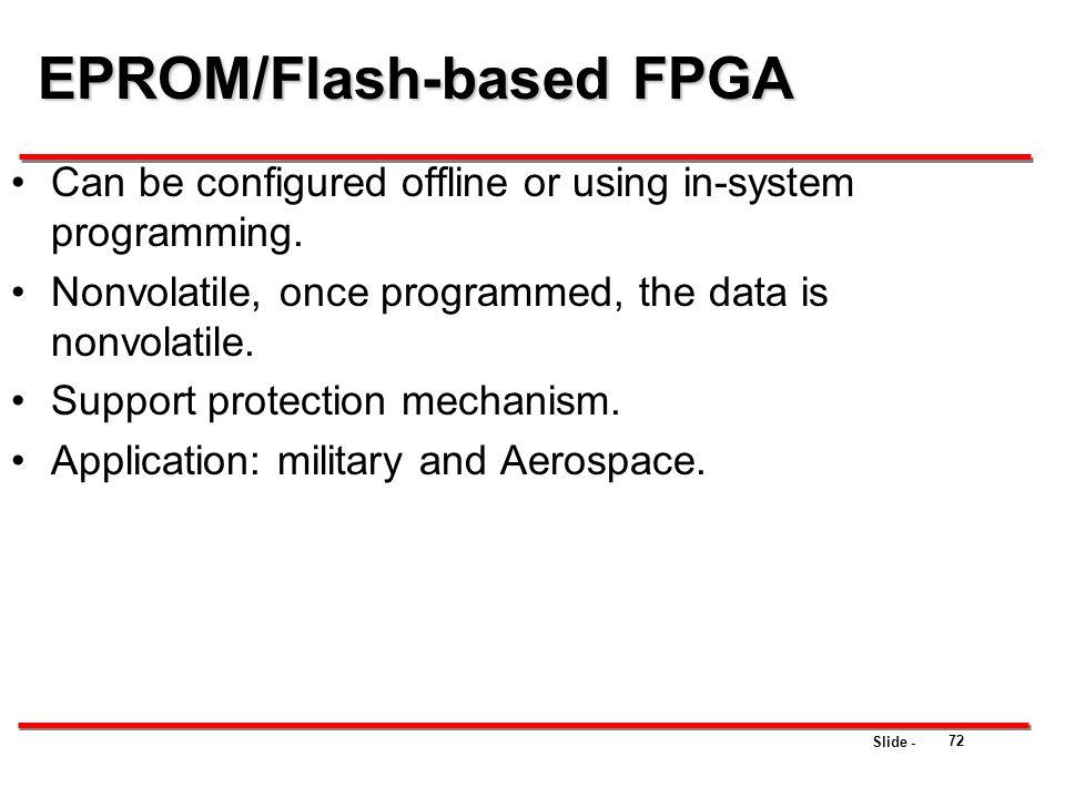 EPROM/Flash-based FPGA