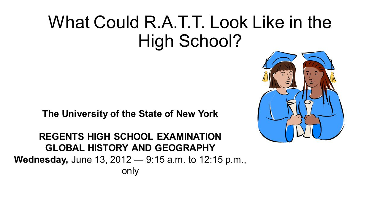What Could R.A.T.T. Look Like in the High School