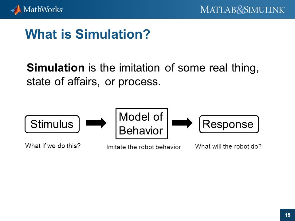 What is Simulation Simulation is the imitation of some real thing, state of affairs, or process. Model of.