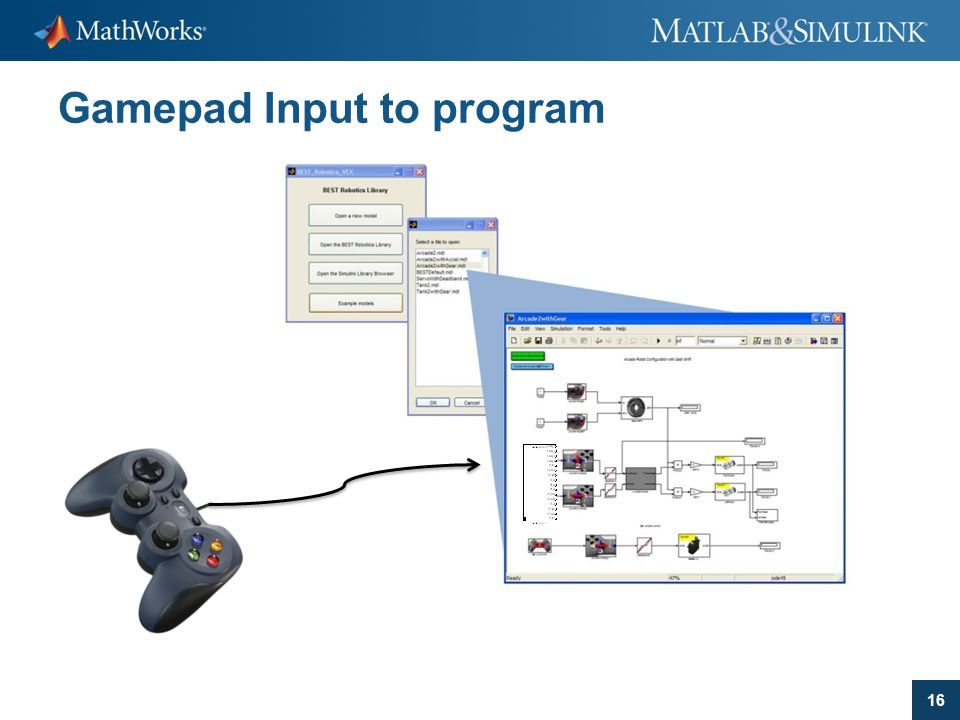 Gamepad Input to program