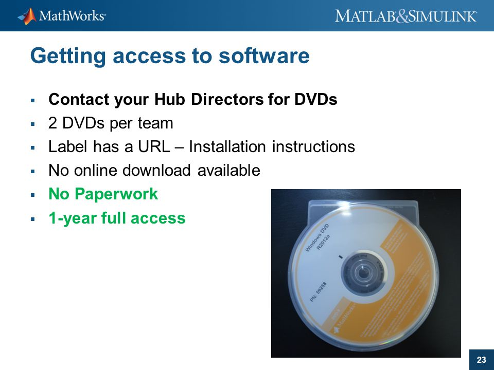Getting access to software