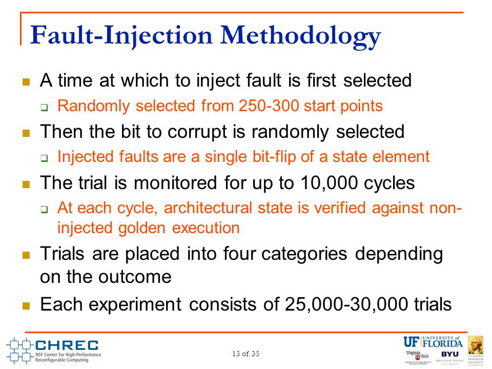 Fault-Injection Methodology