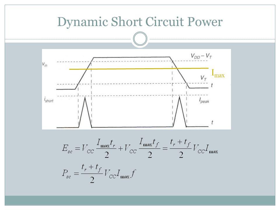 Dynamic Short Circuit Power