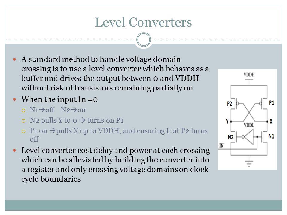 Level Converters