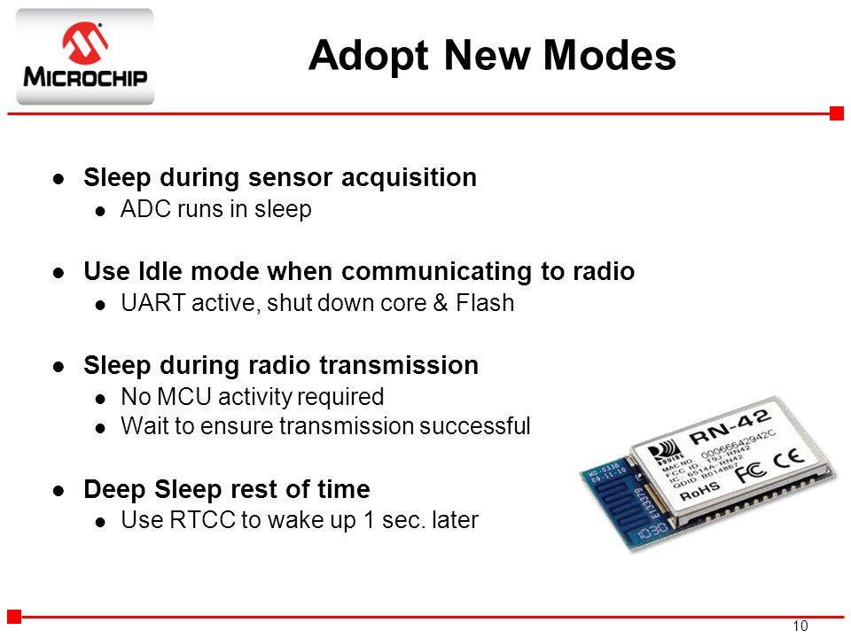 Adopt New Modes Sleep during sensor acquisition