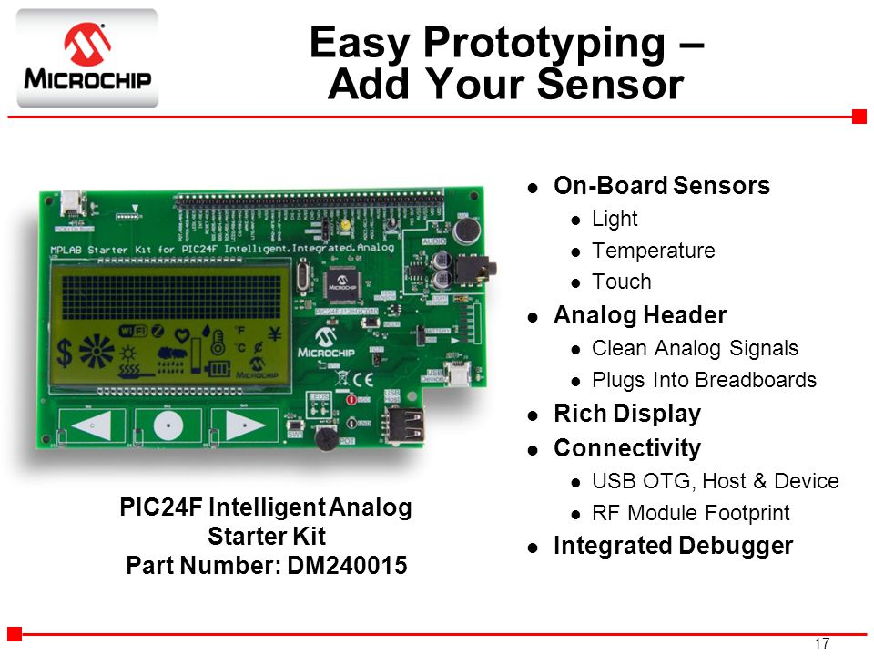 Easy Prototyping – Add Your Sensor