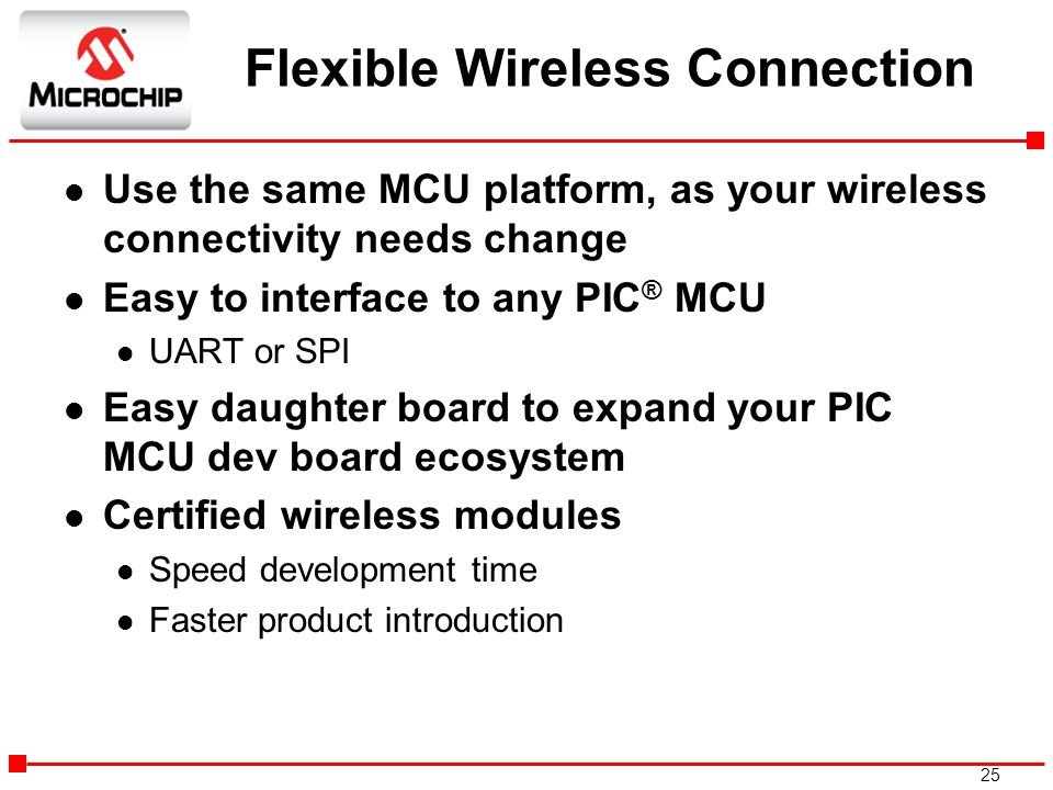 Flexible Wireless Connection
